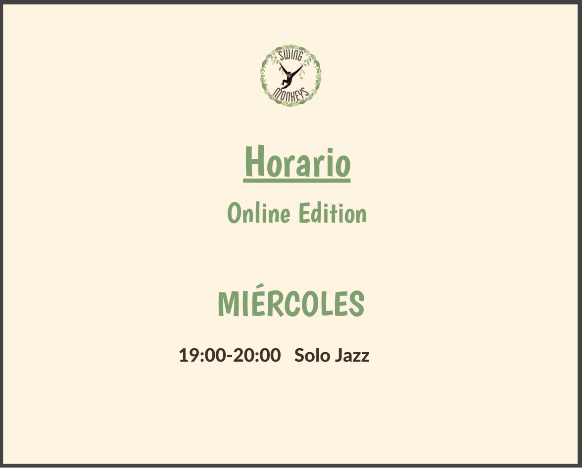 Horario de Swing Monkeys - Online Edition